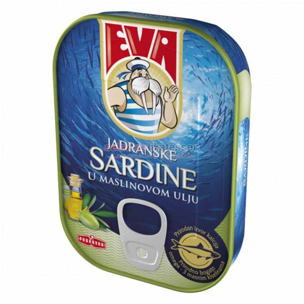 Adriatische Sardinen in Olivenöl Eva 115g