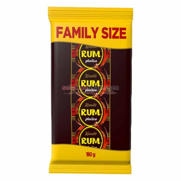 Rum-Riegel Kandit Family Size 180g