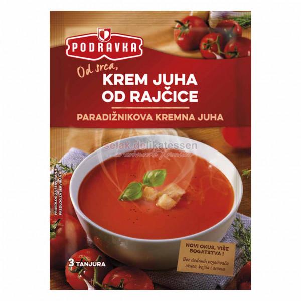 Tomatencremesuppe Podravka 60g